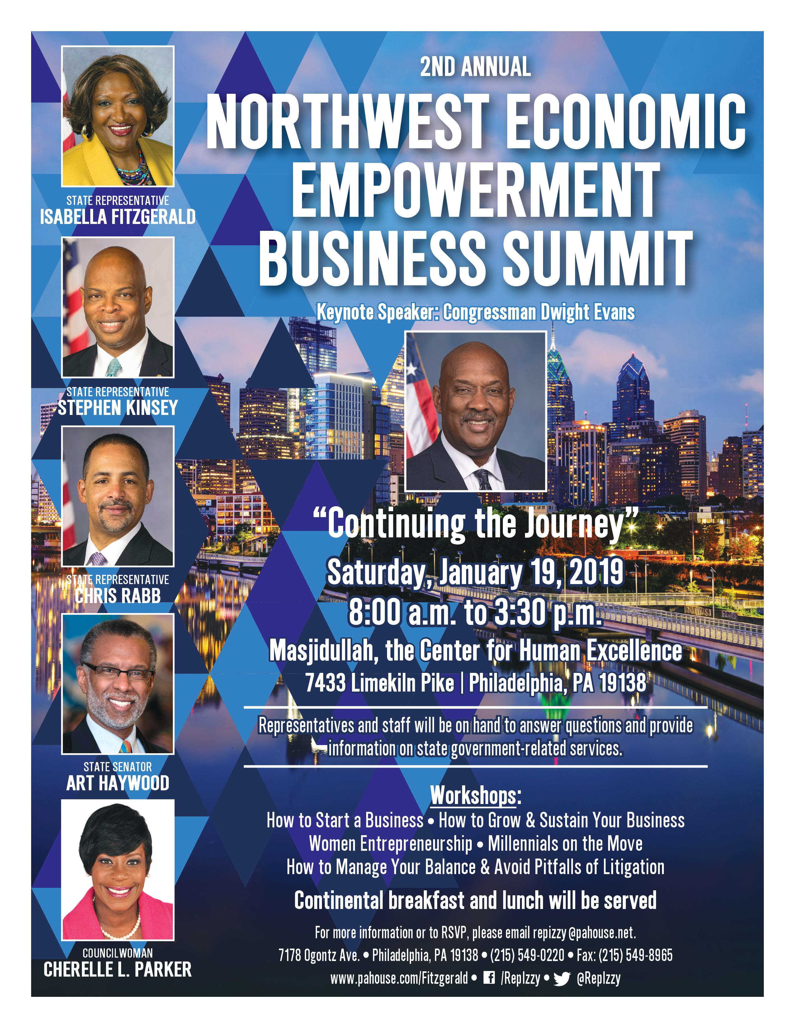 Northwest Economic Empowerment Business Summit : How to grow and sustain your business