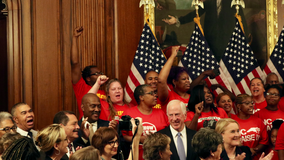 """Congressman Dwight Evans supporting """"Raise The Wage"""" Act"""