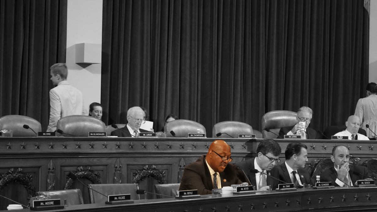 Congressman Dwight Evans (PA-03) advocating for the Butch Lewis Act